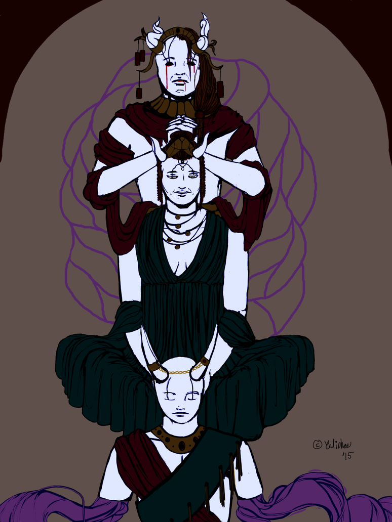 Royal Family Portrait by Caliphos