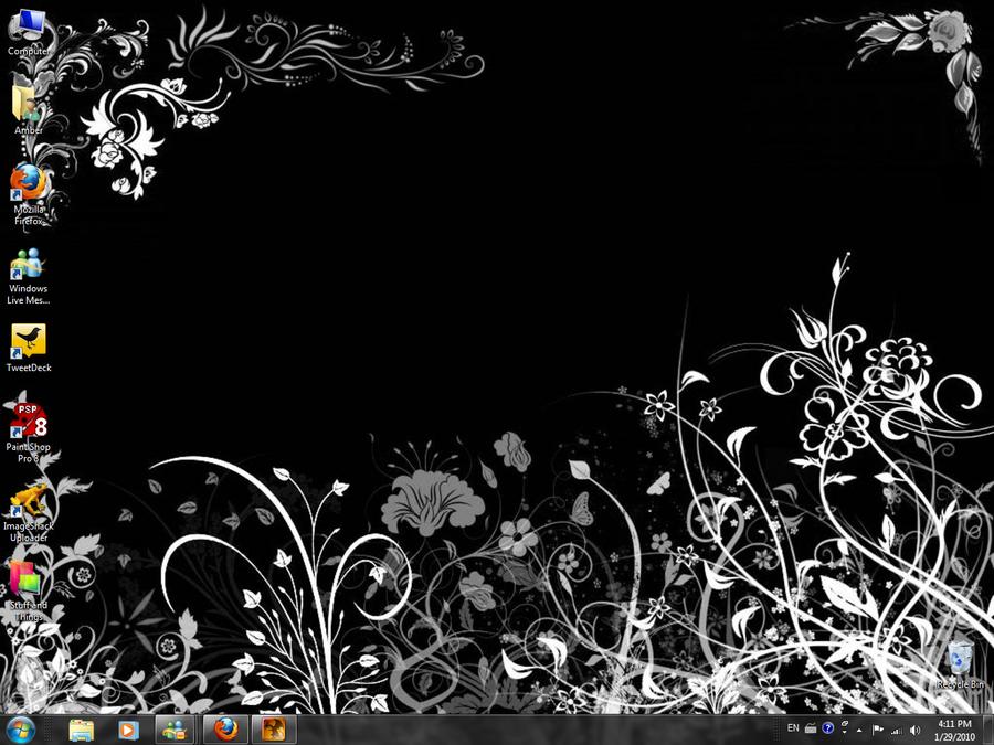 Boring Windows 7 Desktop by Yokusezu-Tenshi