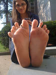 Cute Toe Spread..