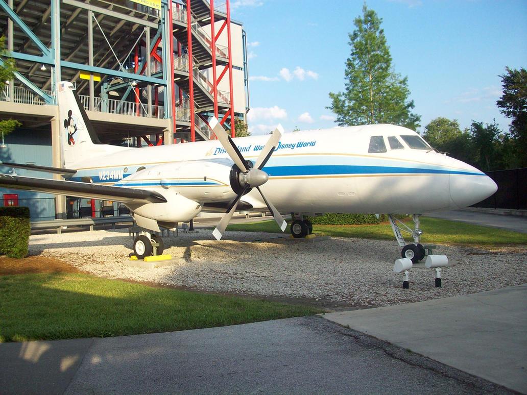 Walt Disney's personal plane.. by Darthbane2007