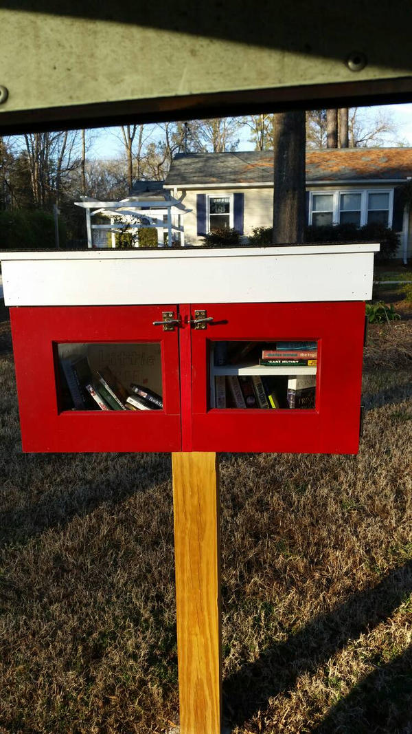 Little Free Library.... by Darthbane2007