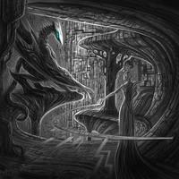 Digital Dragon by artsoldier77
