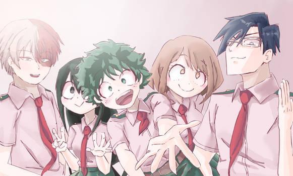 Deku Squad