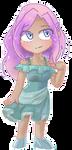 Kagaku Pixel Chibi by Azurphore