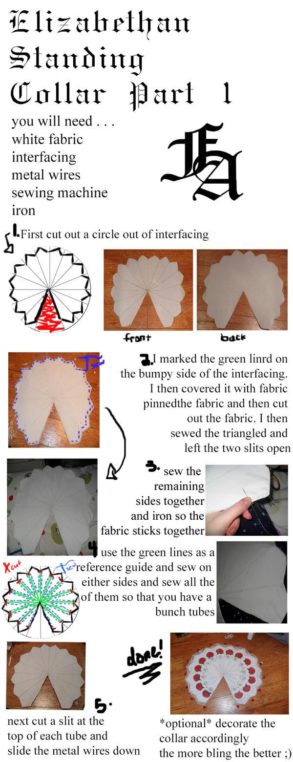 Elizabethan Collar Tutorial Part One by fangirlasylum