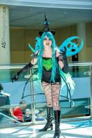 Queen Chrysalis Fan Expo 2013 by fangirlasylum