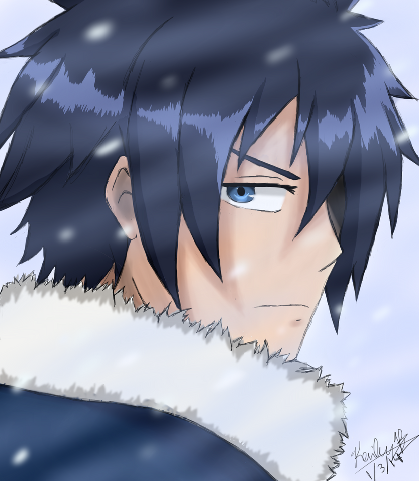 Gray Fullbuster - Fairy Tail by RAWRitsKaileyKitteh on ...