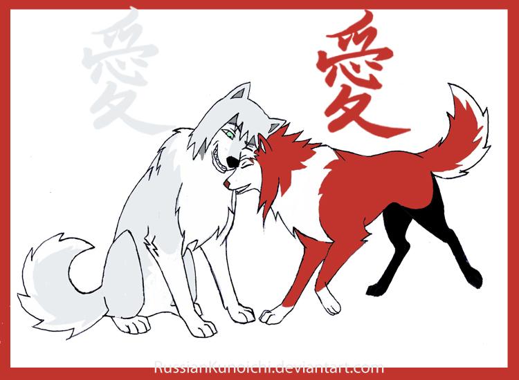 Suigetsu and Karin by RussianKunoichi