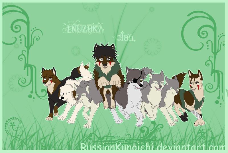 Jutsus Clan Inuzuka COMMISSION___Inuzuka_clan__NWS_by_RussianKunoichi