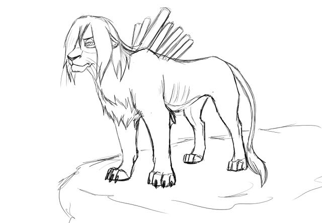 Nagato lion by RussianKunoichi