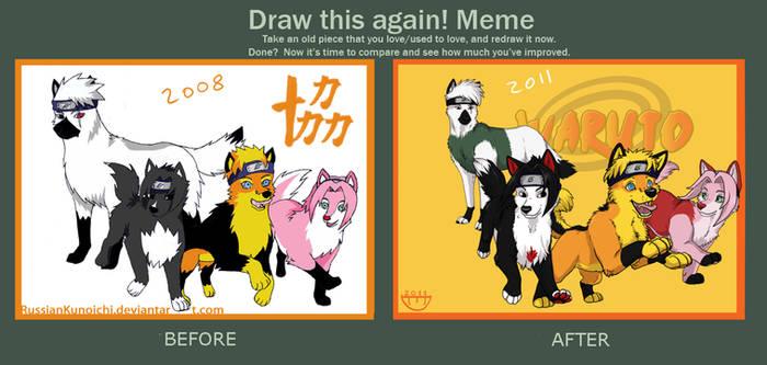 WARUTO - Redraw meme-1