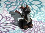 Black Steampunk Dragon