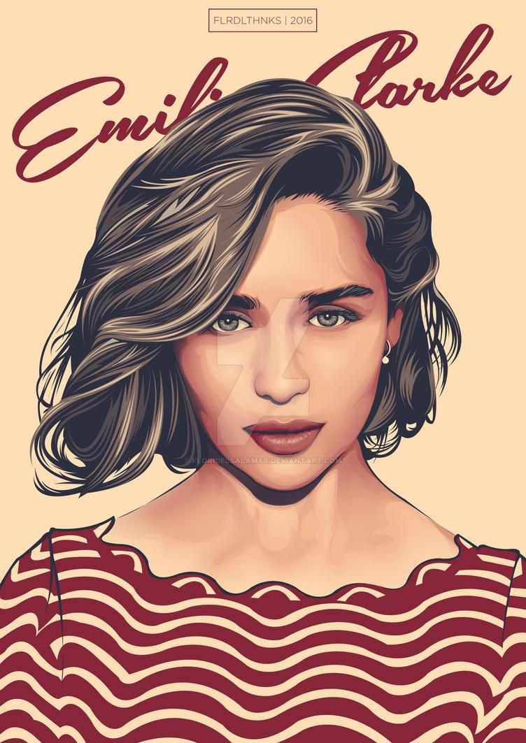 Emilia Clarke by floridelsalamat