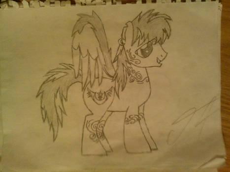 Shadow Fall Sketch