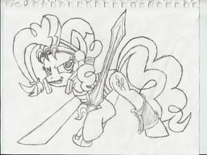Warrior Pinkie Sketch
