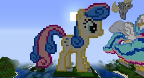 Pixel Pony :Bon-Bon