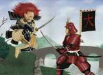 Samurai vs oni