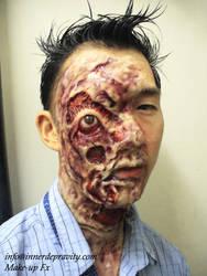 Asian Zombie by InnerDepravity