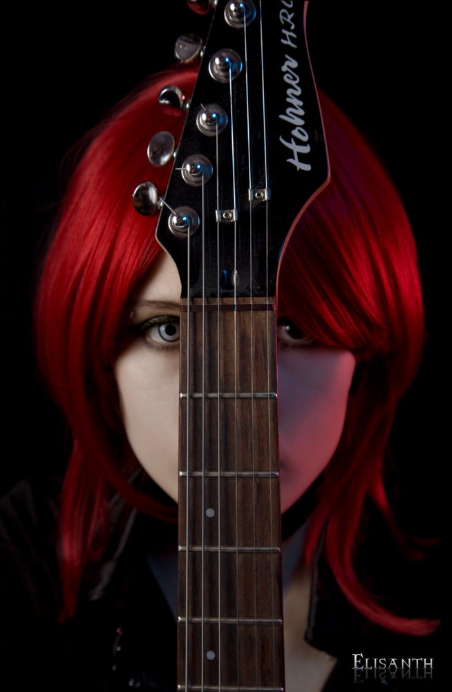 Guitar Vampire-2 by Elisanth