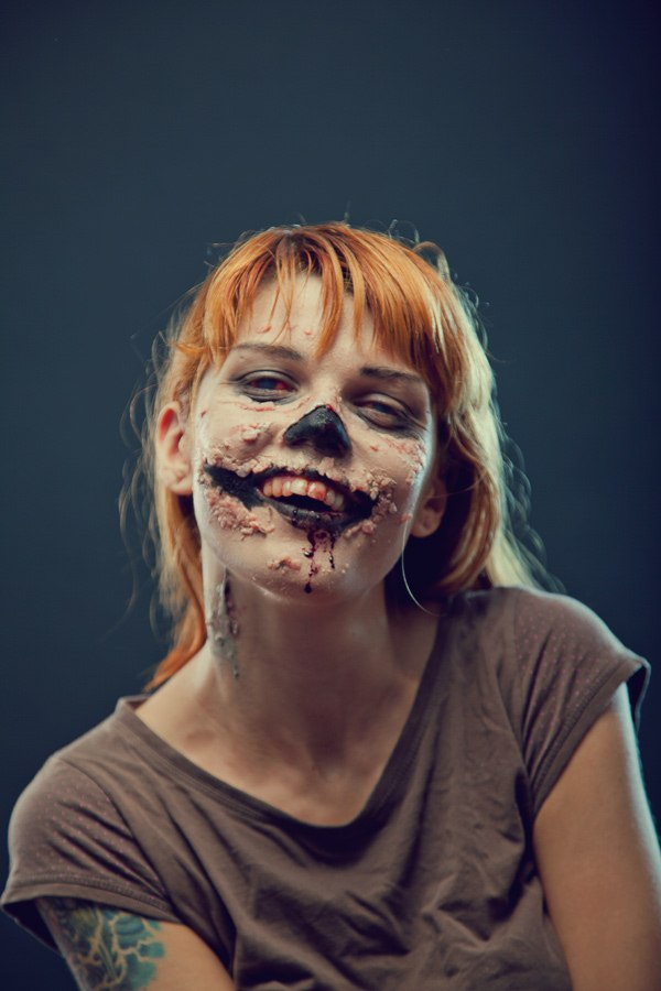 Zombie Smile by Elisanth
