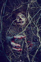 Zombie Hiding by Elisanth
