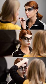Acuteness - makeup process
