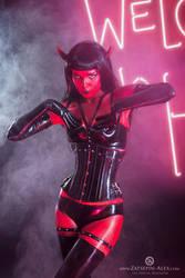 Devil girl 2 by Elisanth