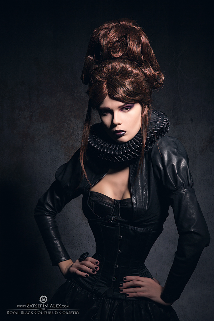 Royal Black portrait by Elisanth