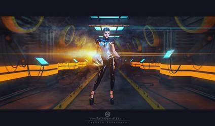 Captain Supernova by Elisanth