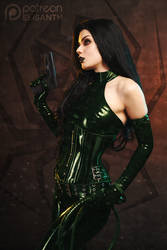 Madame Hydra - January Patreon shoot by Elisanth