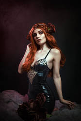 Art Nouveau Latex by Elisanth