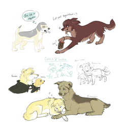 Attack on Titan Dogs Dump4 by Zencelot