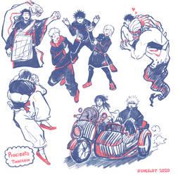 JJK random doodles