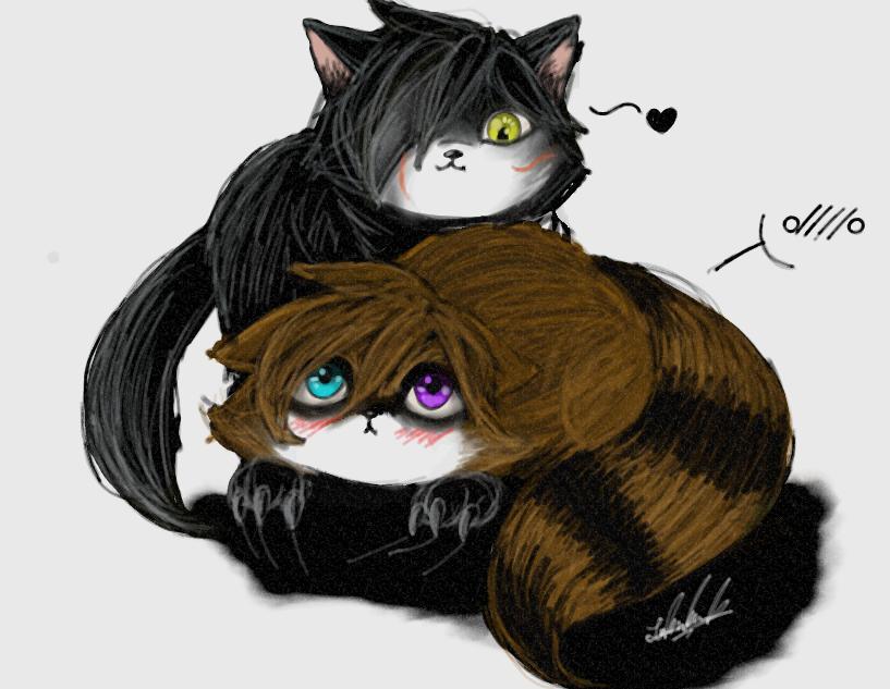 MoriYami Animal Version by YamiriAshKyu
