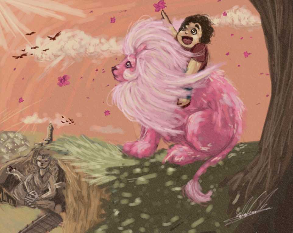 #stevenuniverse#stevenuniversefanart#pink #pinklion#su #rebbeccasugar#cartoonnetwork#fanartdigital#digitalpainting#cutekawaii#beautiful#adorabl...