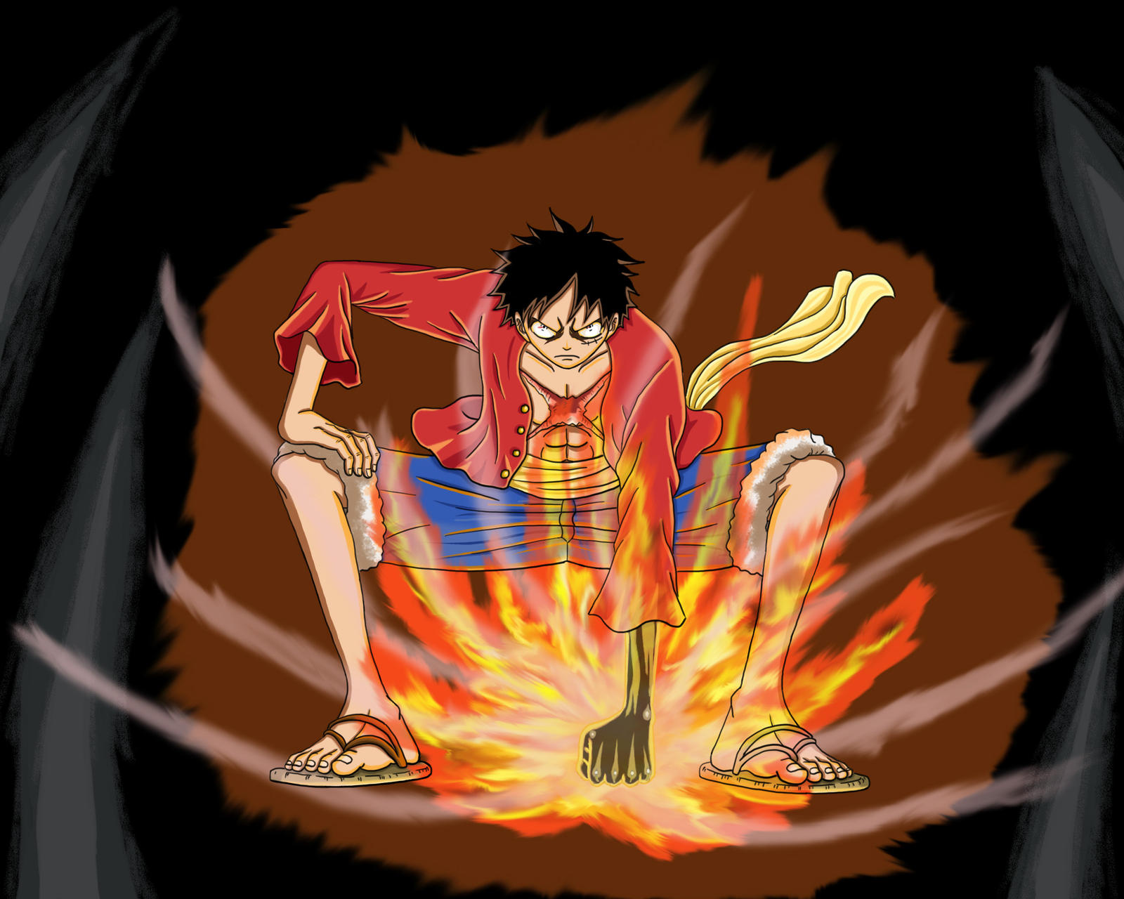 ace and luffy fighting wallpaper - photo #19