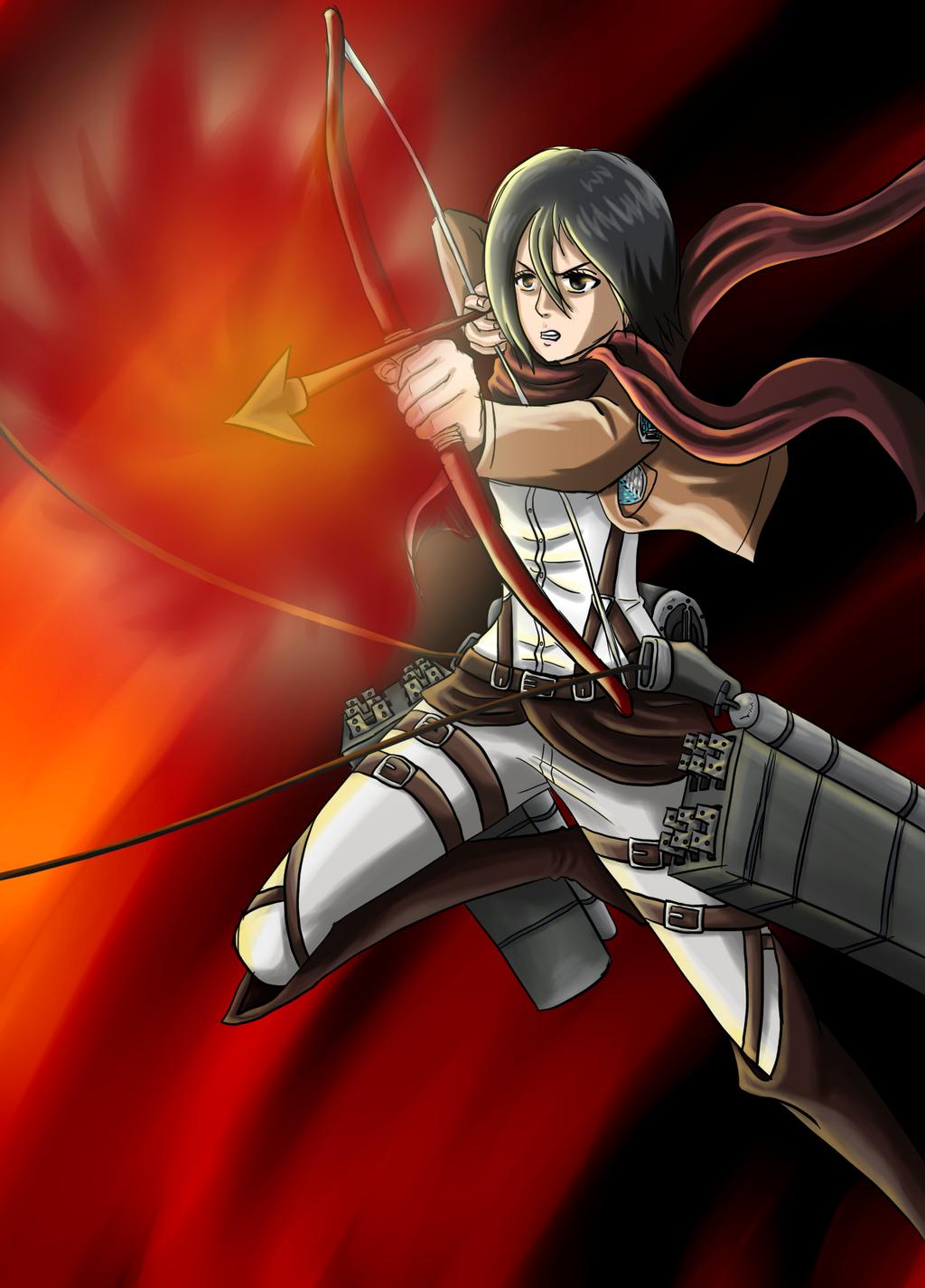 wiki Feuerroter Pfeil und Bogen