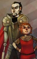 Nimona and Blackheart by amytaluuri