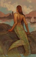 The Mermaid Watches by amytaluuri