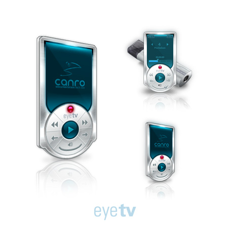 EyeTV Interface with Icons by Replica-Artist