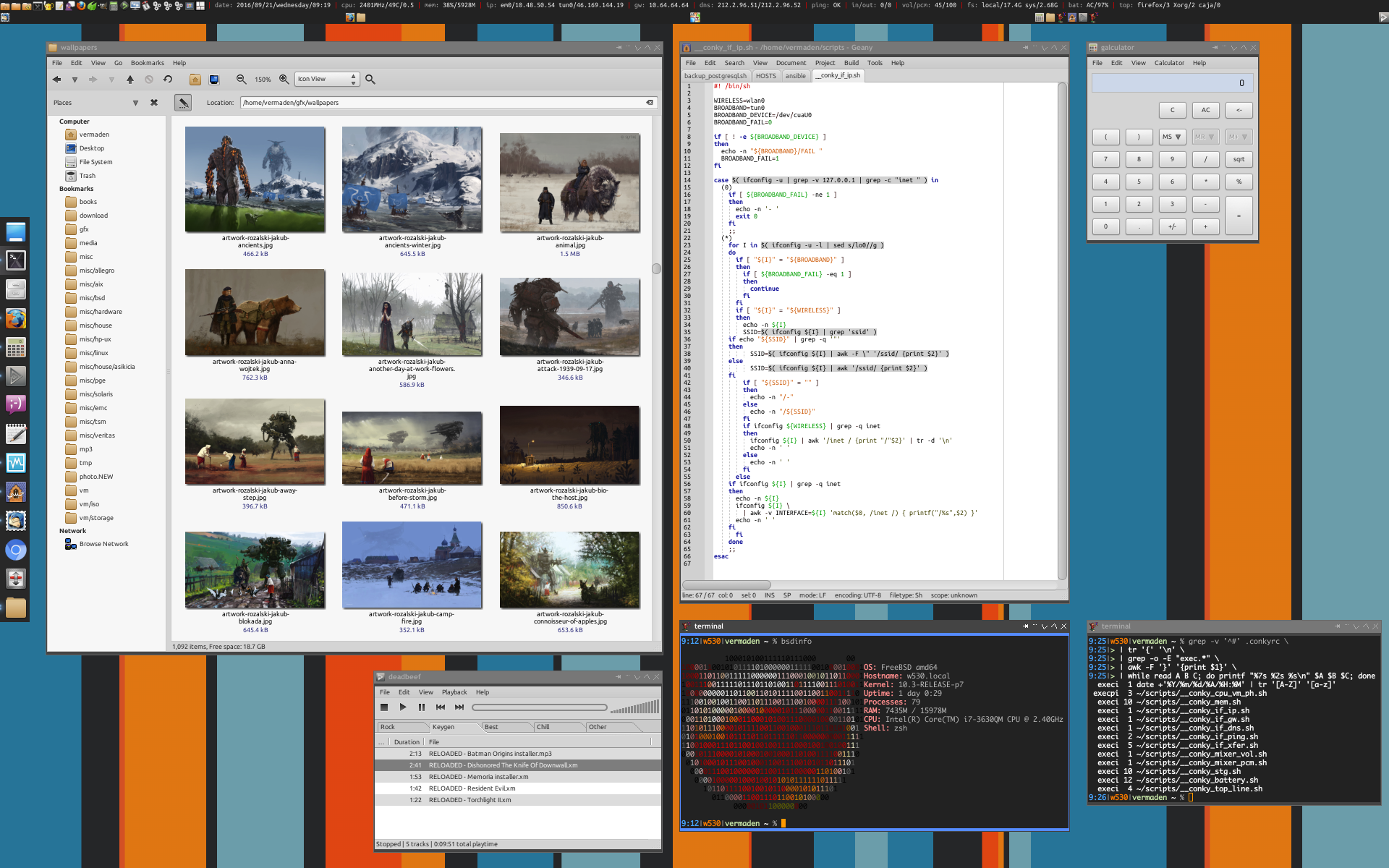 FreeBSD 10.3 Openbox