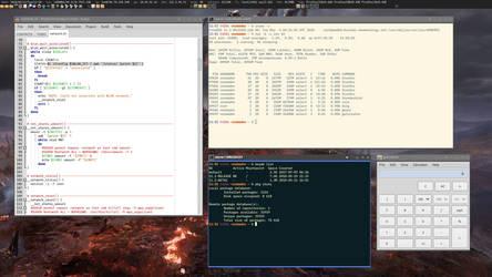 FreeBSD / Openbox / Tint2 / Dzen