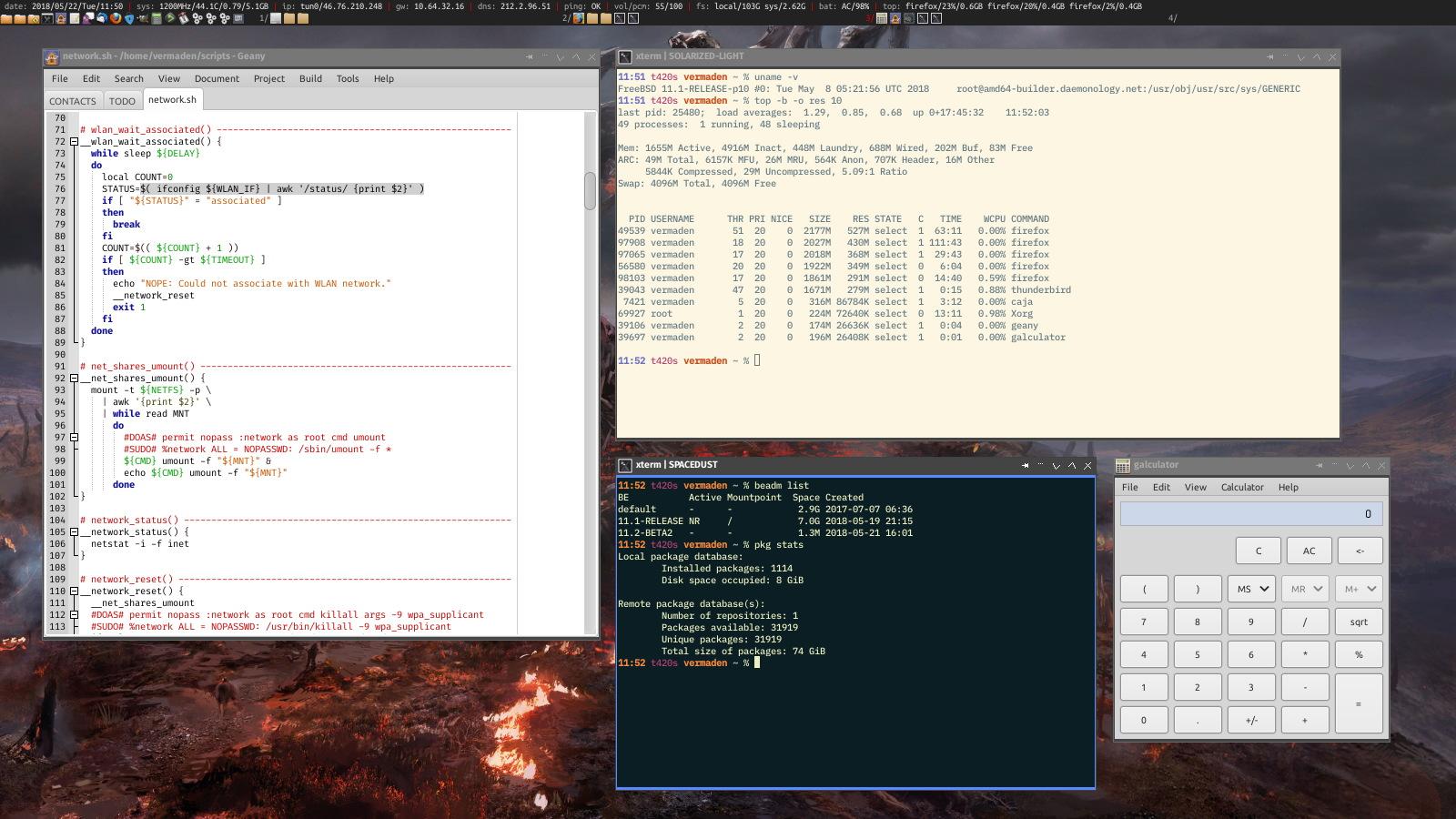 FreeBSD Desktop - Part 3 - X11 Window System : freebsd