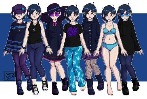 Ericka's Outfits 2 (Color Correction)