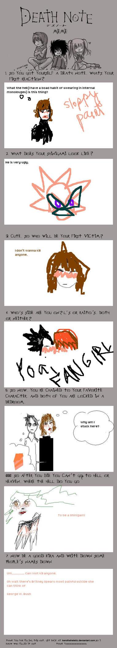 Death note meme by xxraven666xx