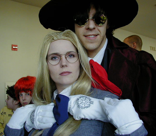 Integral and Alucard moment. by ForeverKnight