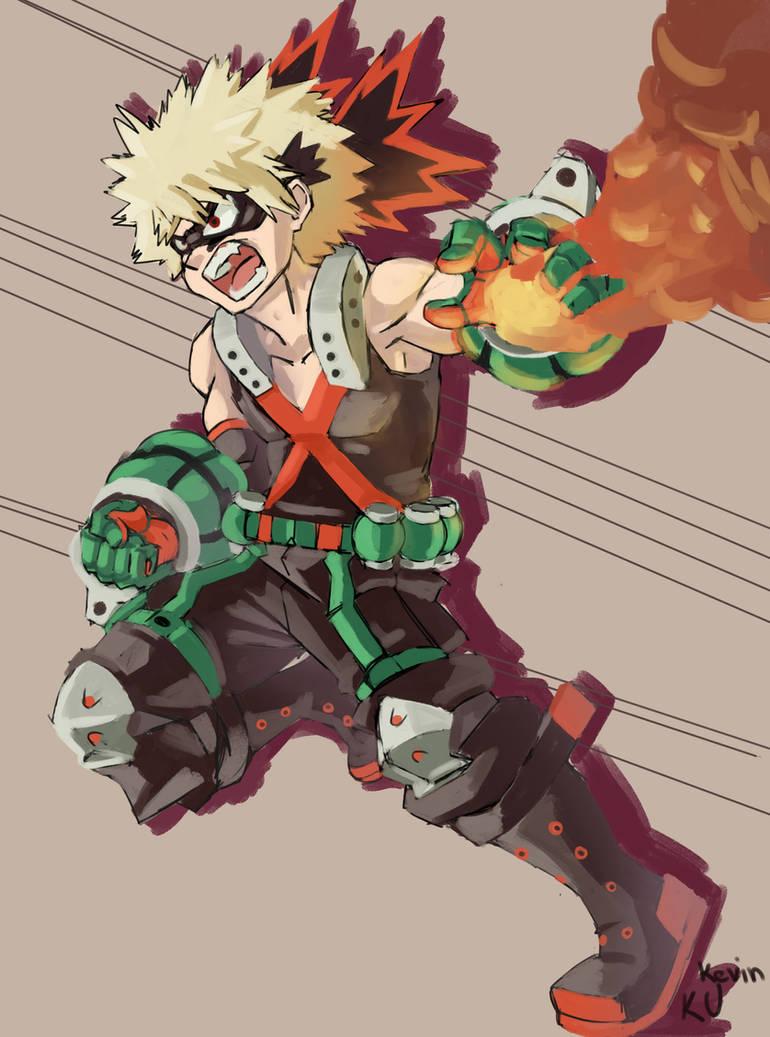 Fan Art - Boku No Hero Academia Kacchan Bakugou by ...