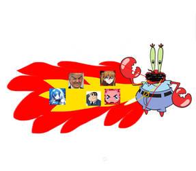Mr.Krabs burns 5 payton users.