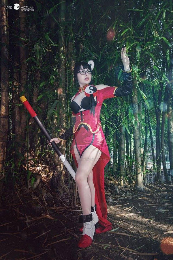 Litchi cosplay III by selene-nightmare69