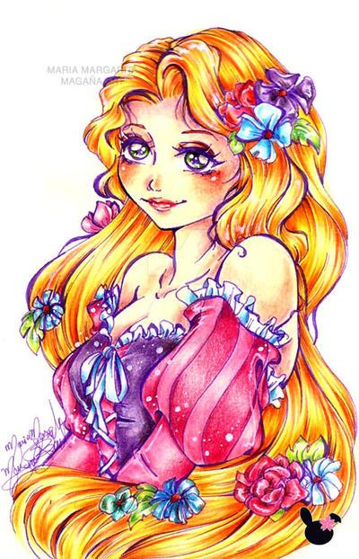 Rapunzel by selene-nightmare69